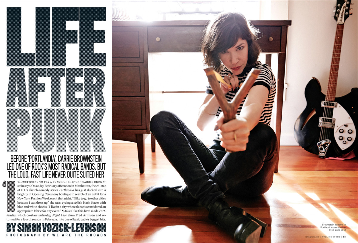 Carrie Brownstein – Rolling Stone