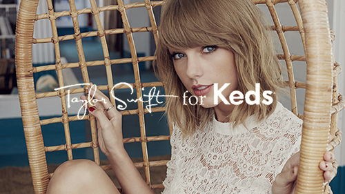 We Are The Rhoads Client: Keds Taylor Swift